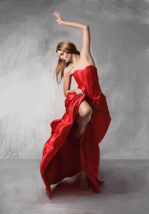 Photo by http://jessso.deviantart.com/art/Dancing-Woman-in-Red-404347339
