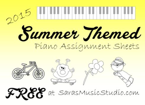 SummerAssignmentSheets